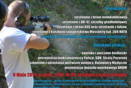 Piknik Strzelecki 5-go Maja, w godz. 11-16